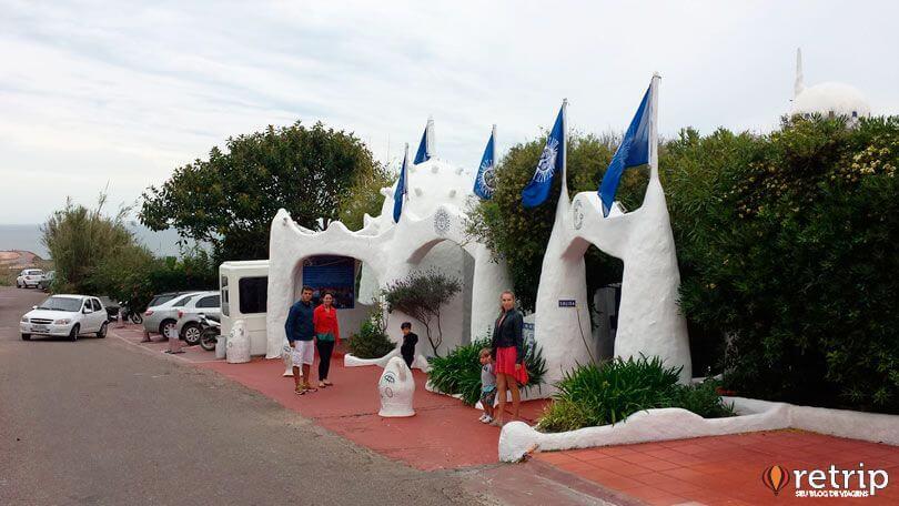 Portaria Casapueblo, Punta Ballena no Uruguai