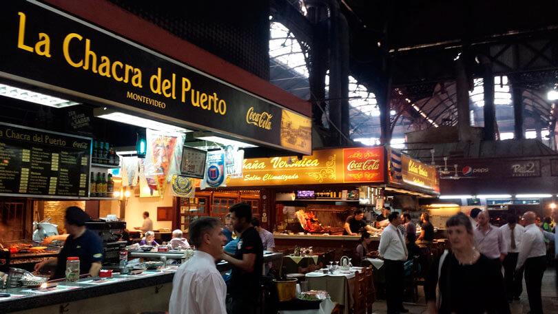 Restaurantes na cidade de Montevidéu