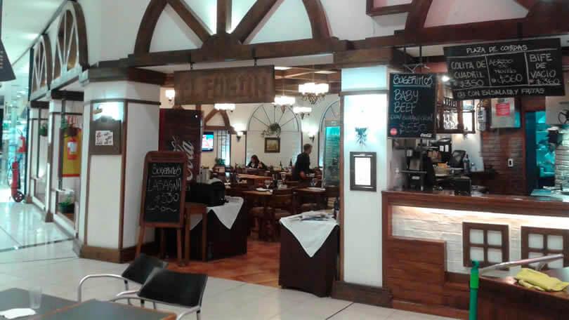 Restaurantes Montevidéu