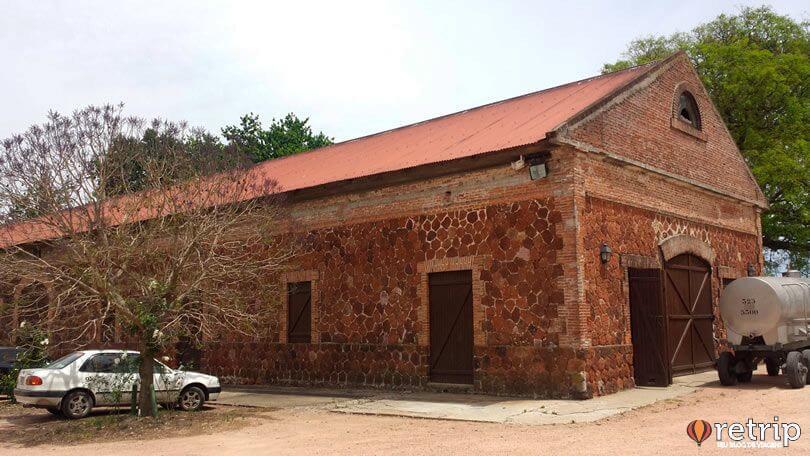 Galpão da vinícola Bodega Juanicó, em Montevidéu