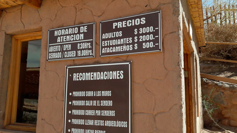 Atrativos turísticos a partir de San Pedro de Atacama