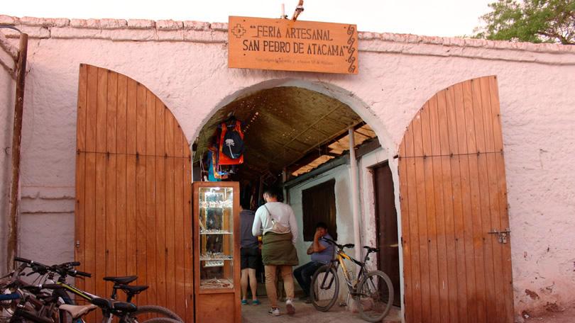 Entrada da Feira de Aresanato de San Pedro de Atacama