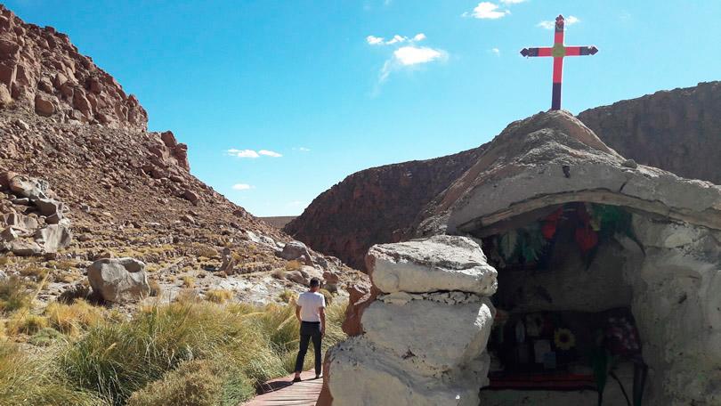 Um passeio nas Termas de Puritama, no Deserto de Atacama
