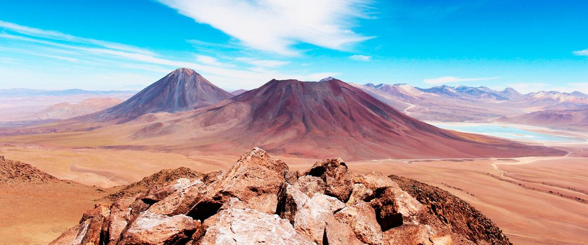 Subida ao vulcão Cerro Toco em San Pedro do Atacama