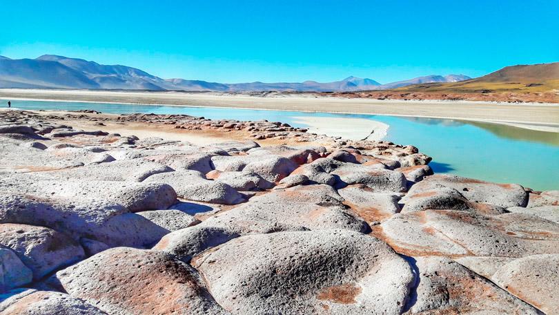 Piedras Rojas em San Pedro de Atacama, Deserto de Atacama