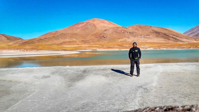 Vários ângulos interessantes do Deserto de Atacama