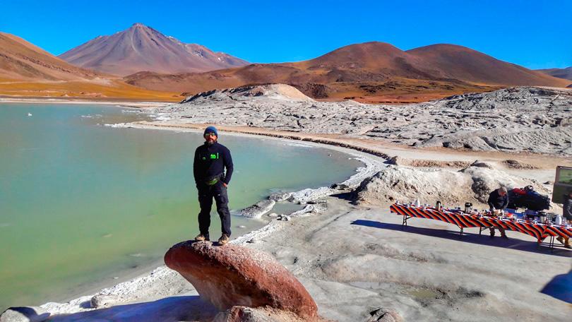 Pontos estratégicos`do Deserto de Atacama