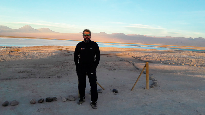 Um passeio em San Pedro do Atacama, Laguna Tebinquinche, Laguna Cejar
