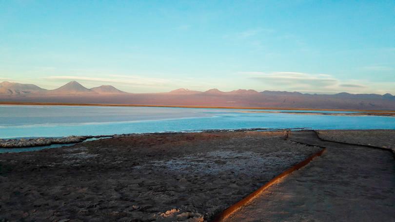 Um passeio em San Pedro do Atacama, Laguna Cejar