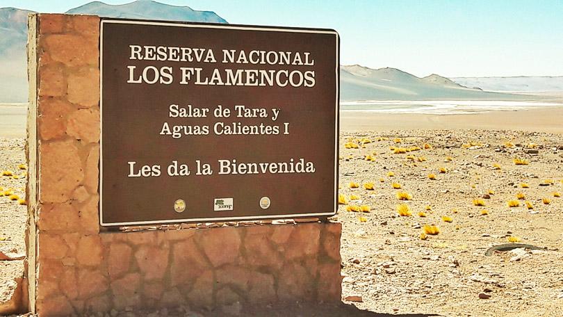Entrada do Parque Salar de Tara e Aguas Calientes em San Pedro do Atacama