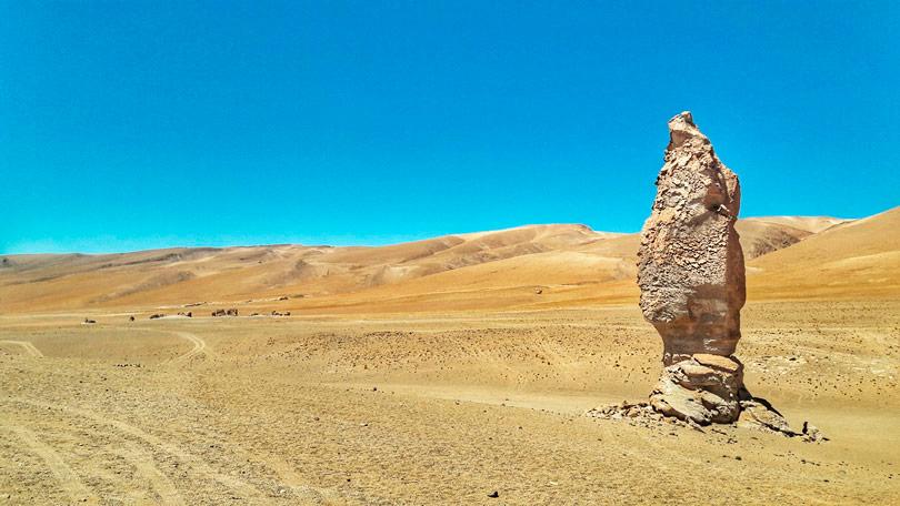Moai de Tara – Salar de Tara