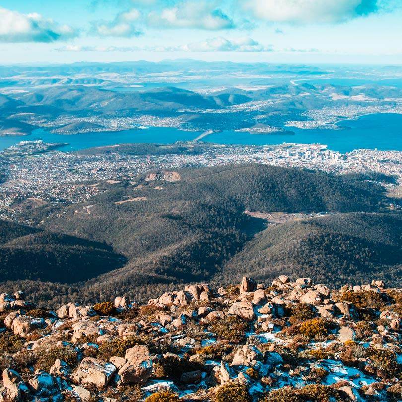 Tasmania Australia - Mt Wellington