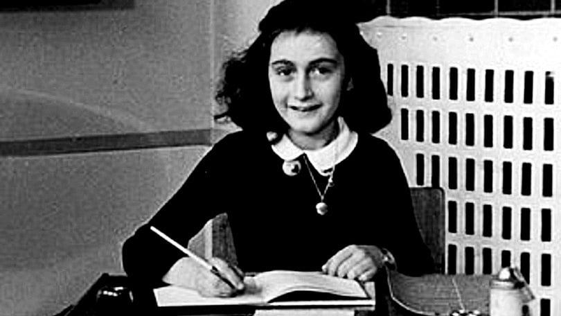 Foto de Anne Frank - arquivo