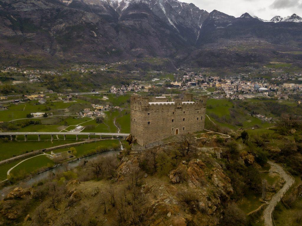 Castelos do vale d'aosta-ussel