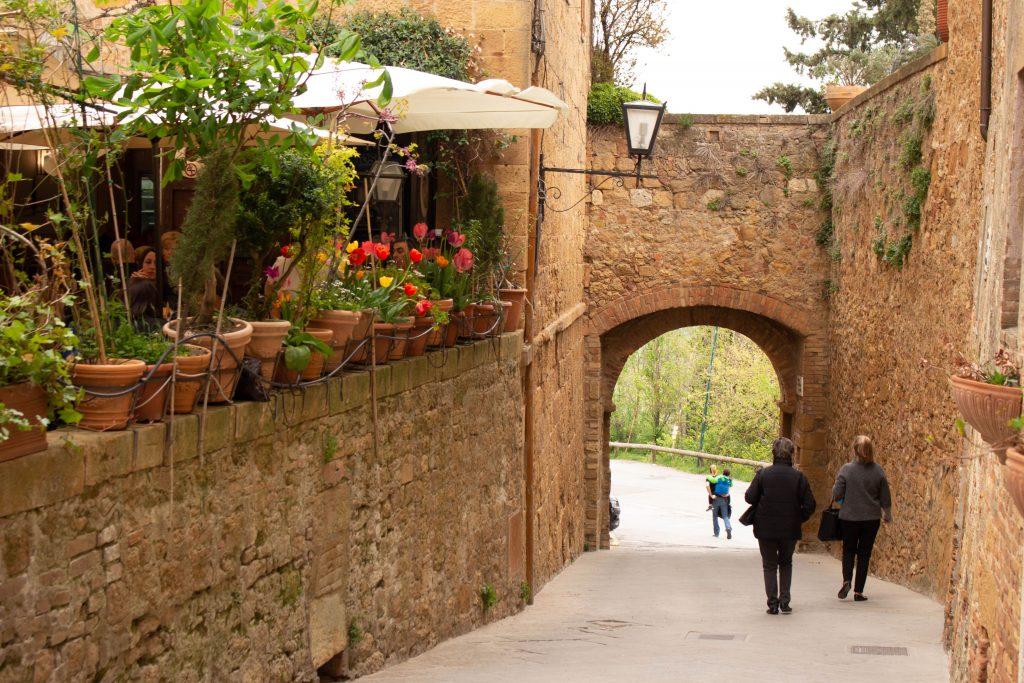 patrimonios da unesco na Itália Pienza