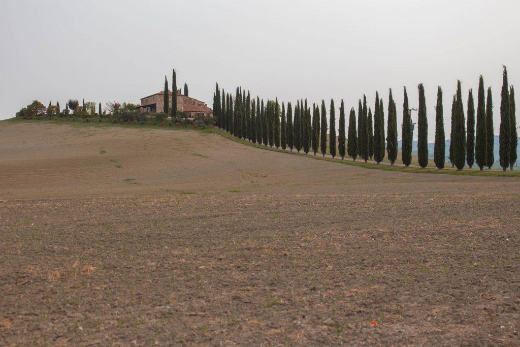 patrimonios da unesco na Itália Val d'Orcia